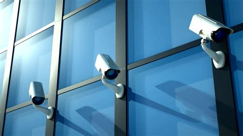cctv camera wallpaper hd three security camera in action stock footage video