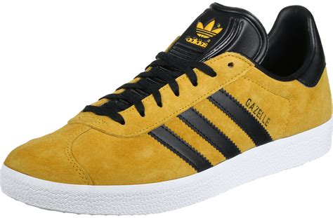 adidas gazelle shoes yellow black