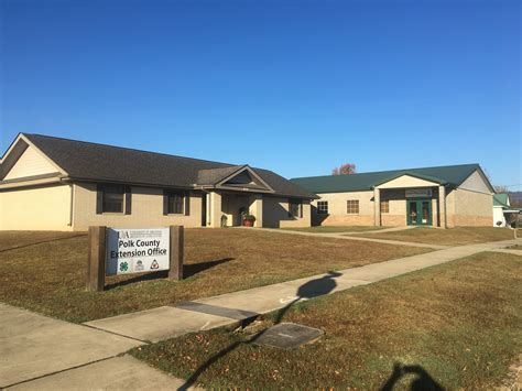 Polk County Extension Office by Polk County Office