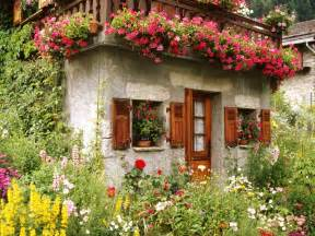 lovely cottage garden wallpaper free downloads