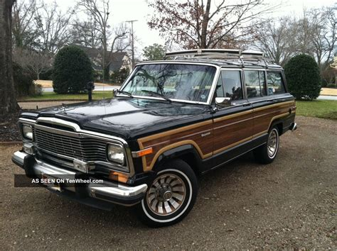 Jeep Grand 1985 1985 Jeep Grand Wagoneer Absolutely No Rust