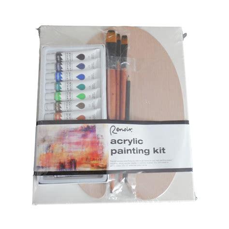 acrylic painting kits for adults craft kit acrylic renoir adults painting set bpaas i n