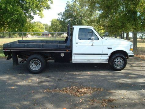 old car manuals online 1992 ford f250 parking system classic 1992 ford f350 f250 flatbed 4x4 5 8 v8 73 000 original miles for sale detailed
