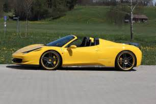 458 Spider Italia Novitec Rosso 458 Italia Spider Kit Car Tuning