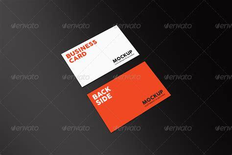 dafont cocogoose business card mock up by bashkirev graphicriver
