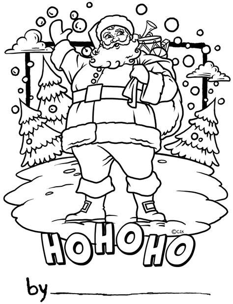 what color is santa claus santa claus ho ho