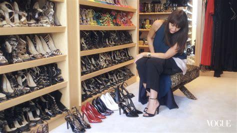 on set with vogue heels inside tamara