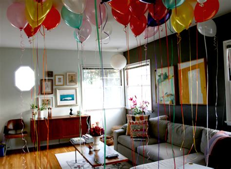 Birthday Decoration Ideas At Home With Balloons Bedroom Home Decorations For Birthday Home Decorations Collections