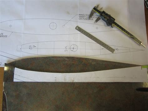 making the templates precision aero products