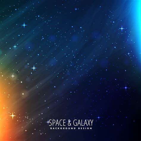galaxy template   vector art stock graphics