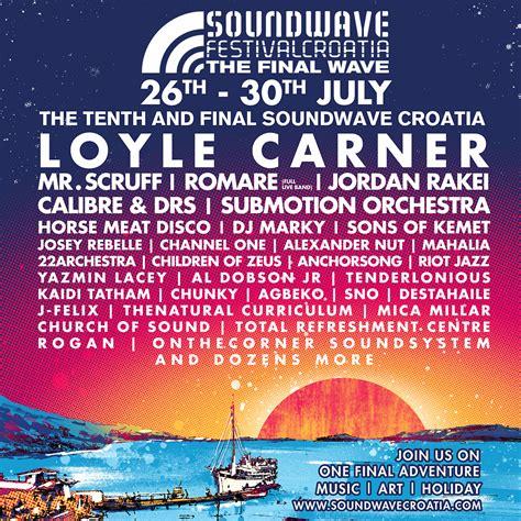 soundwave 2018 line up announcement in visit croatia