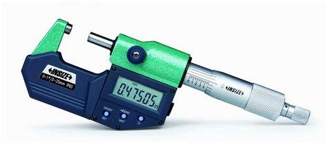 Insize Micrometer 0 25 insize electronic outside micrometer 0 1 quot 3101 25e shop products insize precision measuring