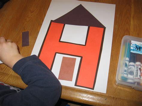 projects for preschoolers letter of the week h alphabet activities for preschoolers