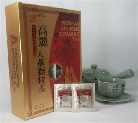 Jual Korean Ginseng Granule Tea anti stress fatigue korean ginseng granule tea health
