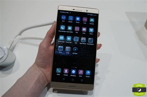 Tablet Huawei P8 aper 231 u du huawei p8 max la phablette aux airs de tablette