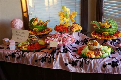Fruit Table For Baby Shower by Pin By Wendi On Baby Shower Ideas