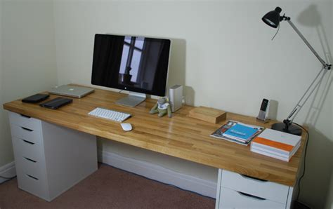 Kitchen Worktop Desk by Customer Kitchens