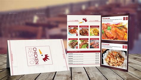 bi fold menu template bi fold a4 food menu template 2 by erseldondar graphicriver