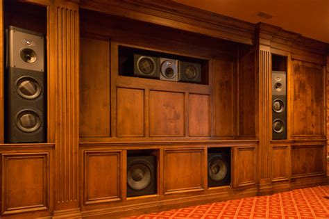 Home Theater Cabinets by Home Theater Speaker Cabinets Kitchen Design Ideas