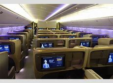 """Singapore Airlines Cancels Their """"Capital Express"""" Route ... United Airlines 777 Interior"""