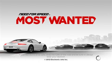 nfs most wanted free apk need for speed most wanted apk mod v1 3 98 data unlimited money free4phones
