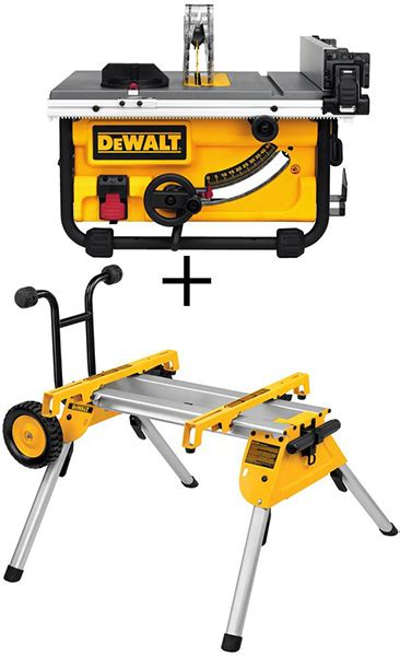dewalt flexvolt miter   portable table  bundle