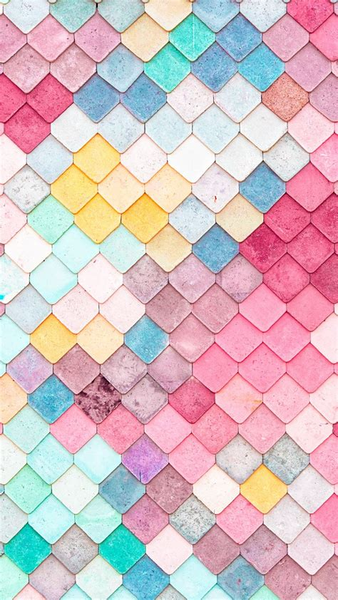 hd color pattern colorful roof tiles pattern iphone 6 wallpaper iphone