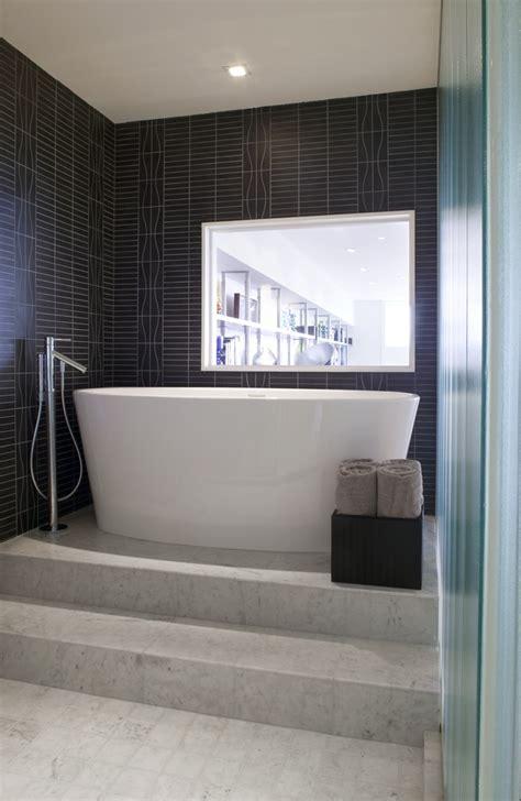 raised bathtub modern bathroom bathrooms remodel