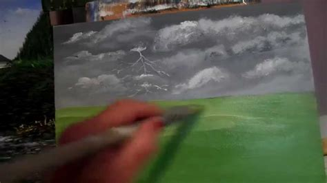 acrylic painting grass painting grass with acrylic paint lesson 3