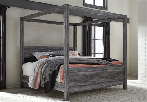 king canopy beds baystorm king canopy bed lexington overstock warehouse