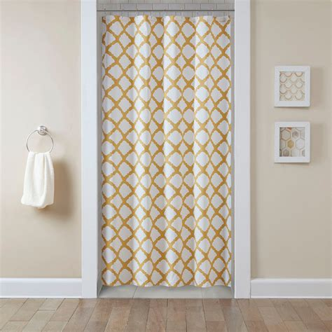 curtains shower shower curtains shower curtain tracks bed bath beyond