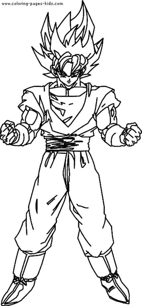 dragon ball z all characters coloring pages dragon ball z color page cartoon color pages printable
