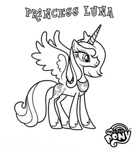 my little pony coloring pages princess luna and celestia pony princess luna in my little pony coloring page