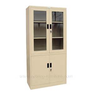 Glass File Cabinet Glass Door Office Cabinet Luoyang Hefeng Furniture