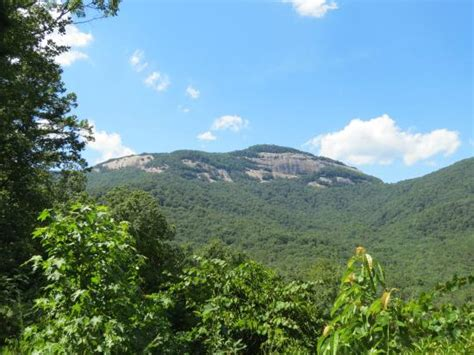 table rock state park nc view of table rock from the state park