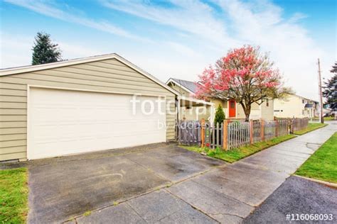 Separate Garage by Quot Separate Garage With Driveway Quot Stock Photo And Royalty