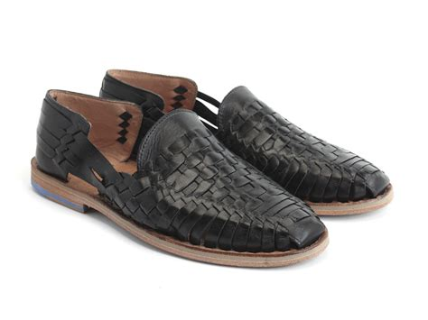 black huarache sandals fluevog shoes shop el black woven huarache sandal