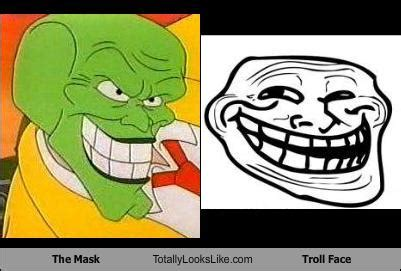 Troll Face Meme Mask