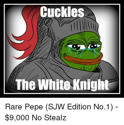 White Knight Meme - search red pepe memes on me me
