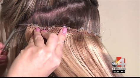 lockn long hair extensions patent pending diy t bar lock n long hair extensions utah abc4 made4utah patent