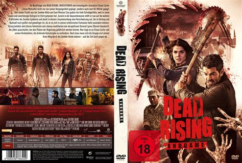 dvd slipcover dead rising endgame dvd covers label 2016 r2 german custom