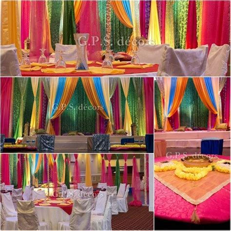 Colourful Ladies Sangeet #Wedding decor #Colourful Events