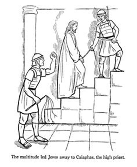 coloring pages jesus before pilate bible stories pictures on bible coloring