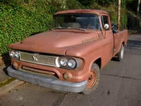 1960s Dodge Trucks Parked Cars 1960 Dodge D100