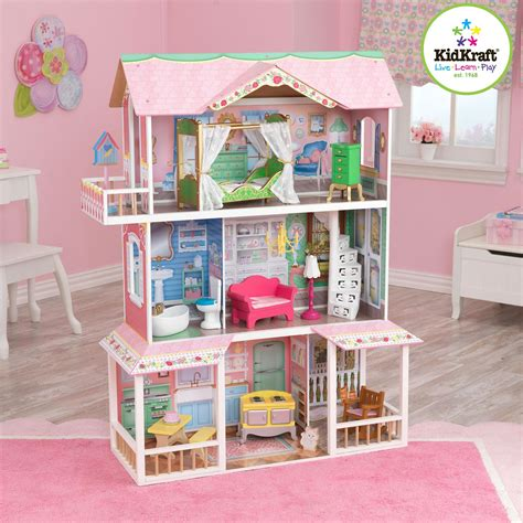 dolls house furniture sets doll house furniture sets walmart com rollback kidkraft sweet savannah wooden