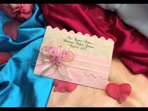 open scrapbook facil y original youtube newhairstylesformen2014com invitacion de quincea 241 era artesanal youtube