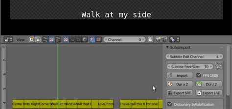 Blender Lrc github doakey3 subsimport blender 3d addon for importing and editing subtitle and lyric files