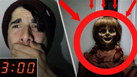 annabelle doll look alike annabelle doll 3 am one hide and seek challenge with