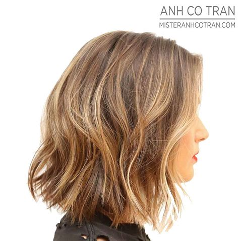 long bobs and highlights image gallery long bob with highlights