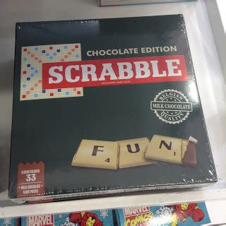 scrabble chocolate kev s snack reviews kev s gift ideas